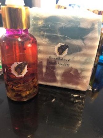 Beautiful Soul Sweet Yoni Oil & Soap Bar Bundle Set