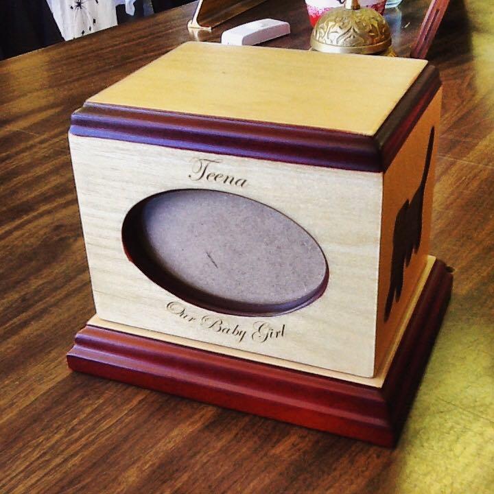 Engraved Memorial Box