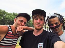 Jo, Luke, and Dom