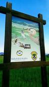 Salmon Outdoor School Sign