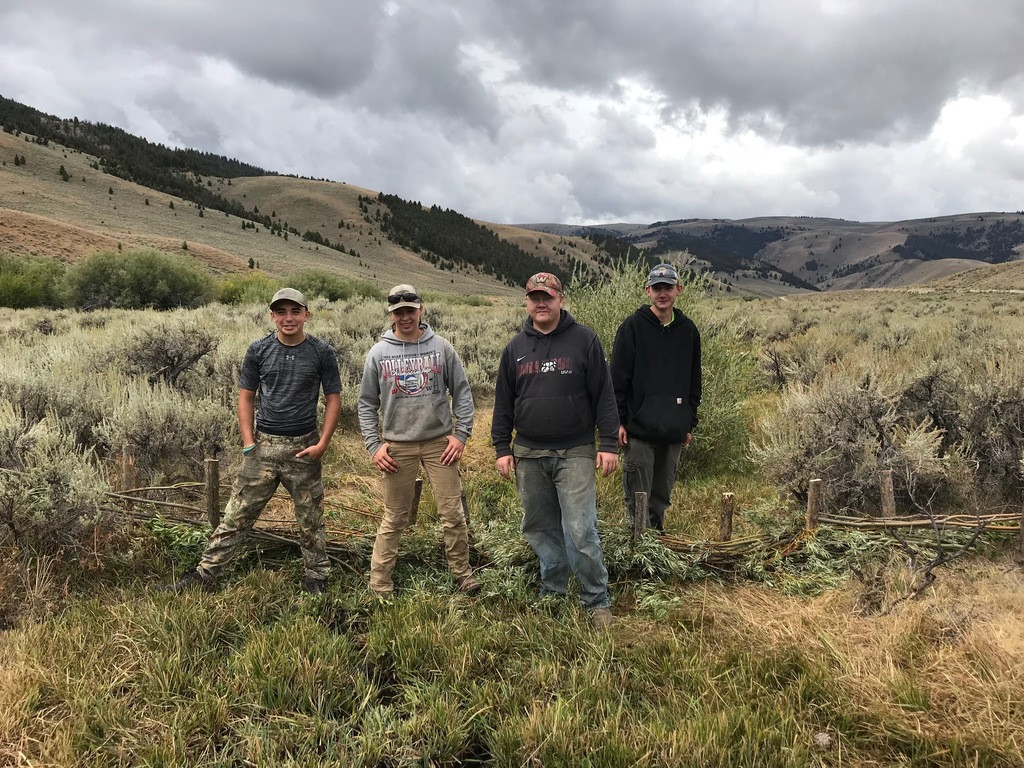 Canyon Creek crew