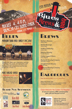 Blues Brews and BBQs poster
