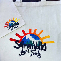 Salmon Valley Local Foods Screenprinted