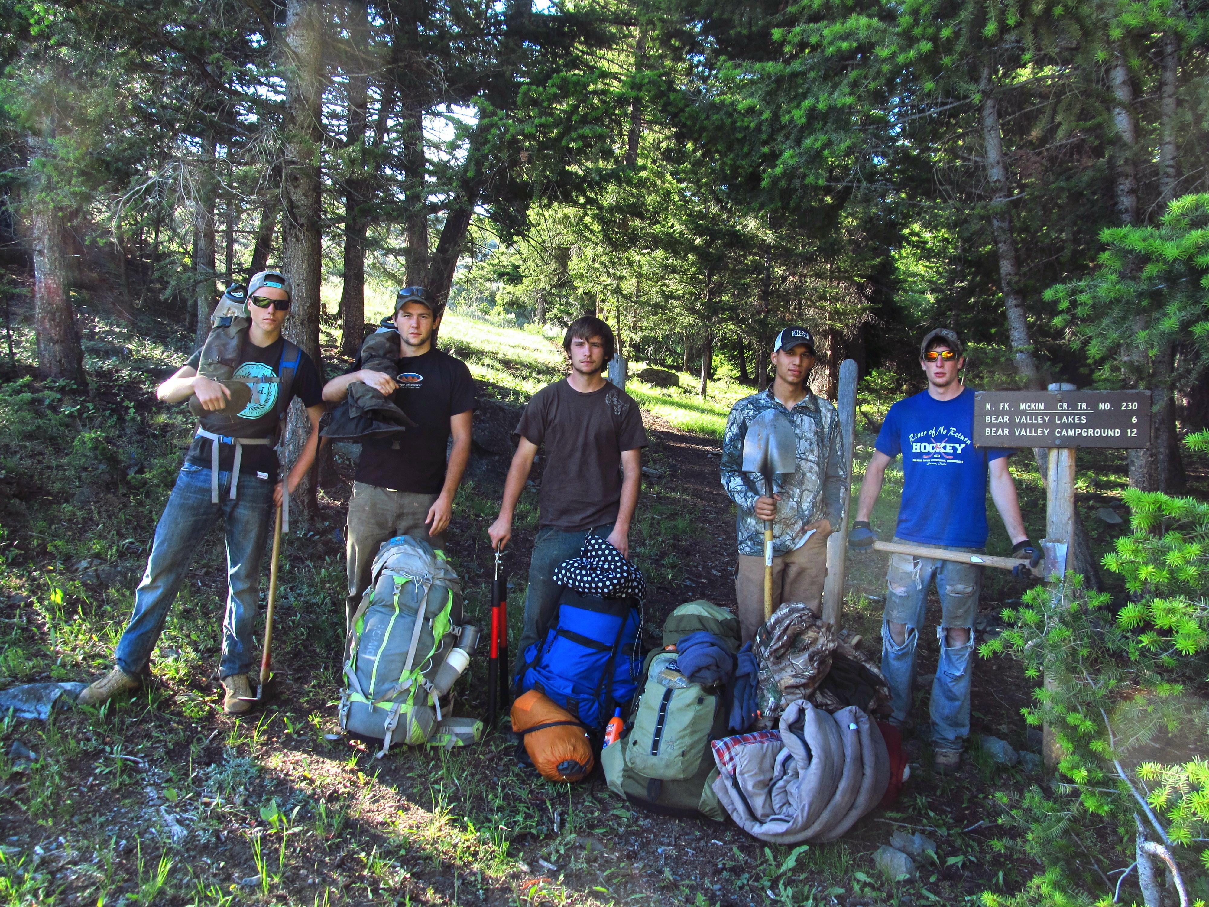 YEP Trail Crew