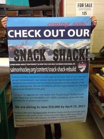 Hockey Snack Shack Banner