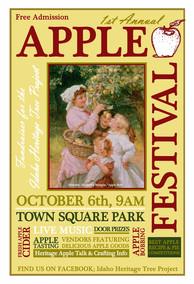 Apple Festival Poster
