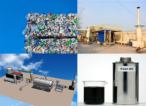 The Plastic To Oil Machine Cost Makes Sense From Business Perspective