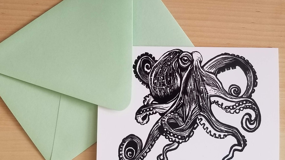 Octopus (B&W) Card
