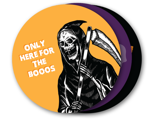Halloween Set of 12 Wrapped Magnet