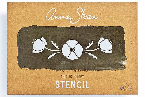 Arctic Poppy Stencil