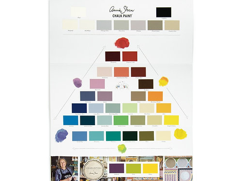 The Chalk Paint® Color Card