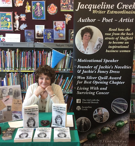 Jackie Creek , author