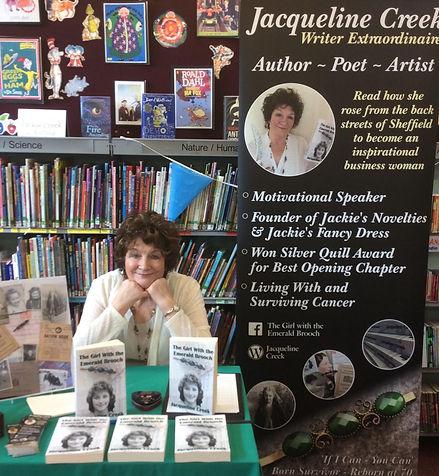 Jackie Creek , author