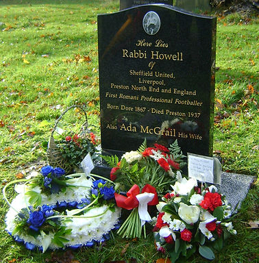 Rabbi Howell, Headstone