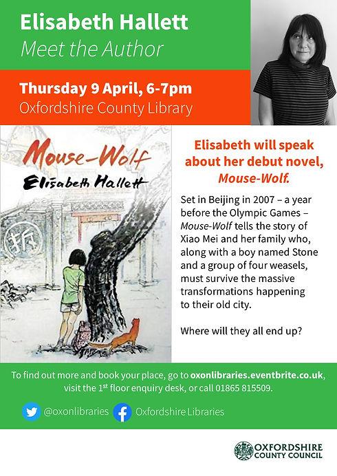Author event OX Elisabeth Hallett.jpg