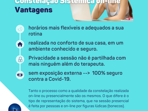 VANTAGENS DA CONSTELAÇÃO ONLINE