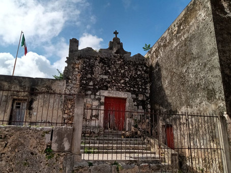 A Strange Fog and Mayan Carvings on Catholic Churches