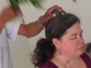 Traditioanl shamanic cleansing ceremony
