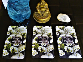 Buddha & A Bottle of Sacred Water: Choose a Card and See What the Oracles Have to Say!