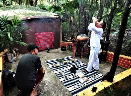 Maya Temezcal Ceremony