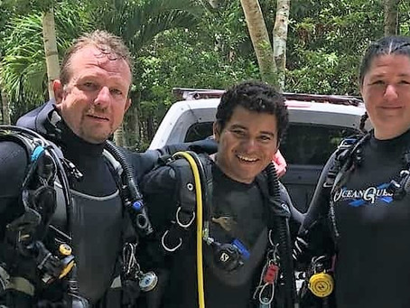 Nat Geo and Bizarre Cenote Connections