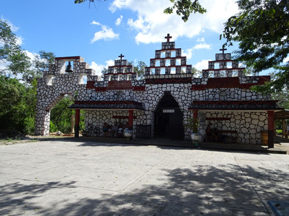 The Center of the Maya World and a Powerful Entity