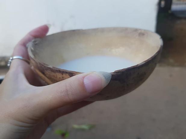Atole, a corn drink