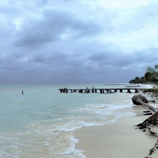 beach in Punta Allen