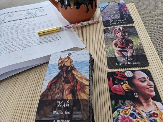 Maya majiks cards and tzolkin planner