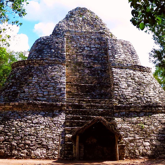 watch tower at Coba