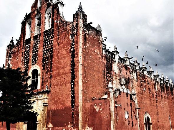 church in Temozon