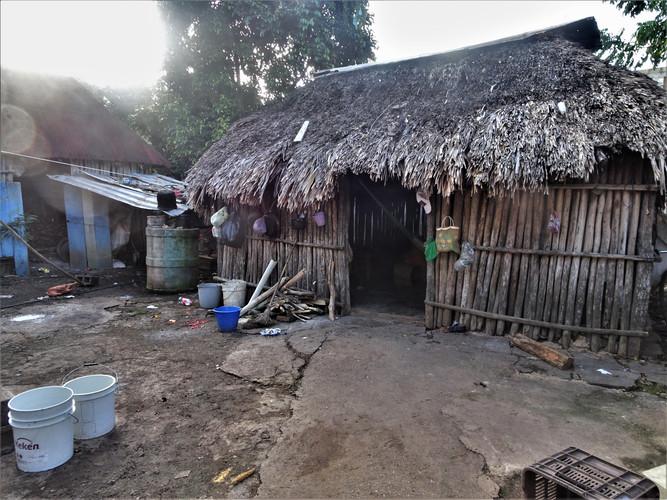 Home of a Maya family in Kaua