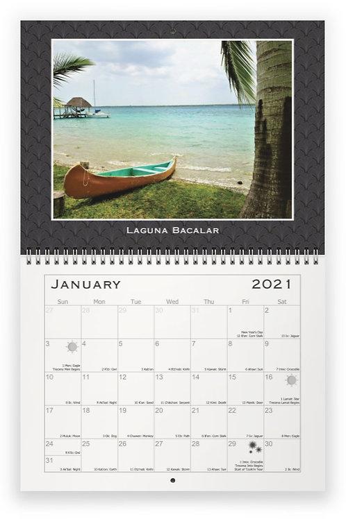 Tzolk'in Wall Calendar