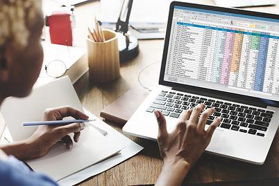 Spreadsheet Document Information Financi