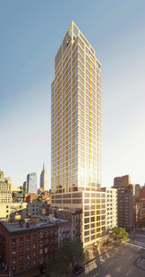 VU Third Avenue, East Side   100 units 4,000 sf amenities   Minrav Development
