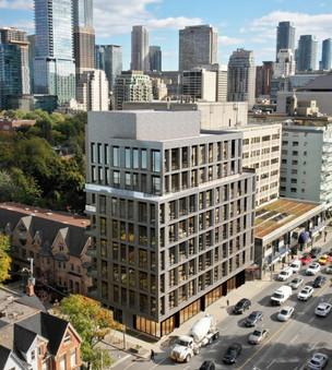 121 Avenue Road, Toronto   10 units 1,100 sf amenities   Zinc Developments