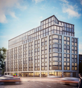 300 West, Harlem   150 units 10,000 sf amenities   Happy Living