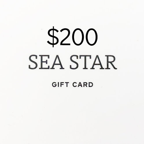 $200 Gift Card (Physical)