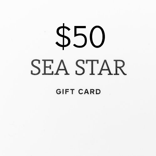 $50 Gift Card (physical)