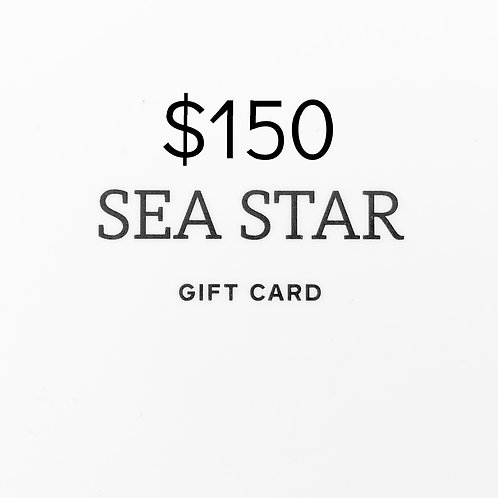 $150 Gift Card (physical)