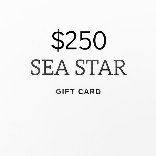 $250 Gift Card (physical)