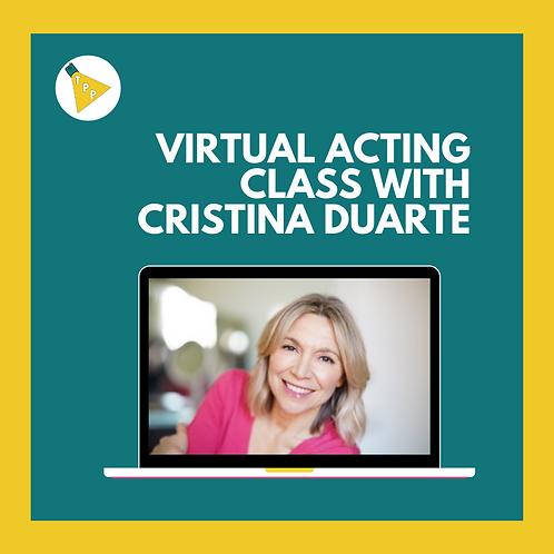 Cristina's Acting Lesson