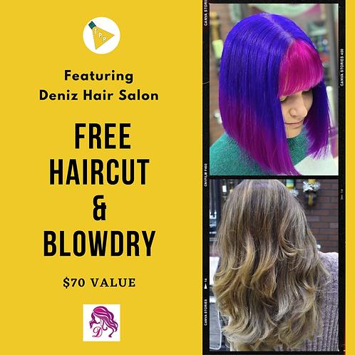 Dina's Haircut & Blowdry