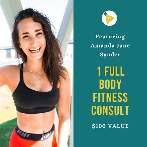 Amanda's Fitness Consultation