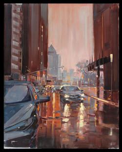 Third Street in the Rain