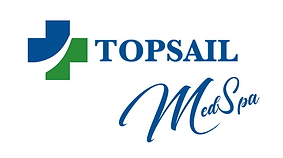 Topsail MedSpa Video Logo with white glo