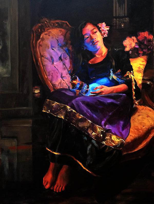 Elaine Qiu Work [ Blue Light ]