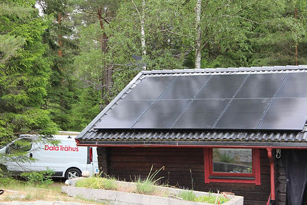 Solceller villa installera