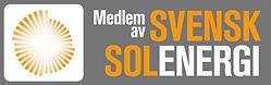 Medlem av Svensk Solenergi