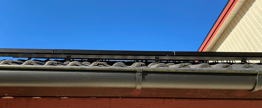 solpanel och solkabel